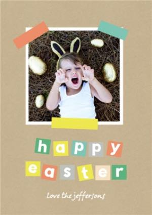 Greeting Cards - A Little Note Happy Easter Card - Image 1