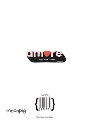 Greeting Cards - Amore Only Have Eyes For You Personalised Card - Image 4