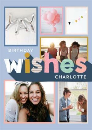 Greeting Cards - Birthday Wishes - Photo Upload Card - Image 1