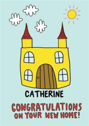 Greeting Cards - Congratulations on your new home Card  - Image 1