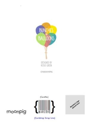 Greeting Cards - Balloons Congrats Personalised Birthday Card - Image 4