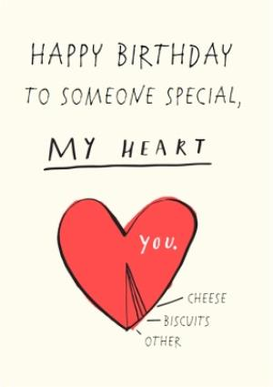 Fine To Someone Special Youre My Heart Personalised Birthday Card Moonpig Funny Birthday Cards Online Unhofree Goldxyz