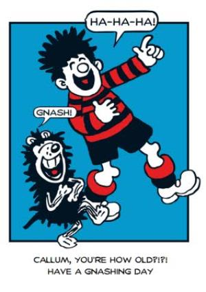 Greeting Cards - Beano Youre How Old Personalised Birthday Card - Image 1