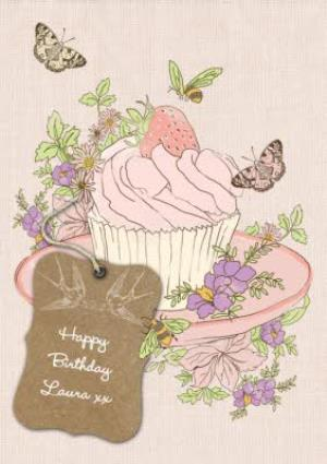Greeting Cards - Cupcake Birthday Card - Image 1