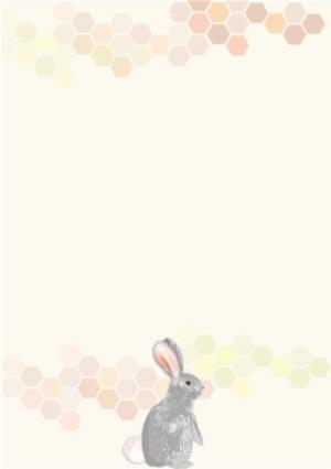 Greeting Cards - Easter Objects Personalised Happy Easter Card - Image 2