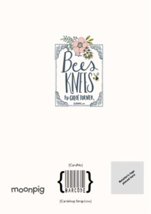 Greeting Cards - Bees Knees Congrats You Two Card - Image 4