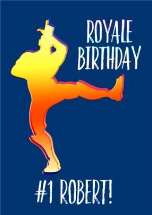 Greeting Cards - Birthday Card Battle Royale Royale Birthday  - Image 1
