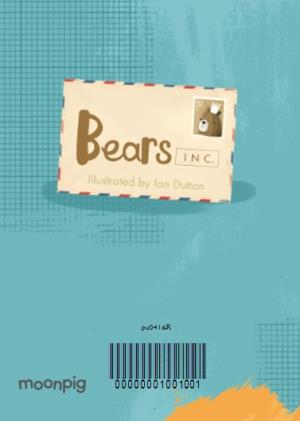 Greeting Cards - Big Bear Special Birthday Hugs Happy Birthday Dad Card - Image 4
