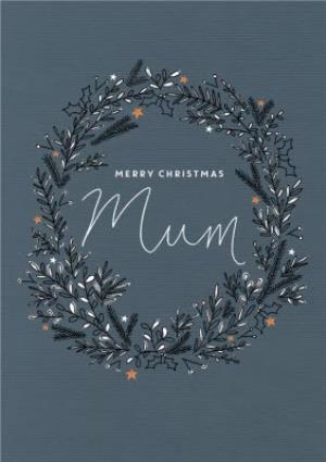 Greeting Cards - Botany Merry Christmas Mum Card - Image 1