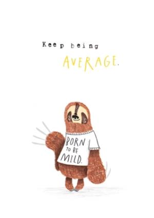 Greeting Cards - Animal birthday card - sloth - Image 1