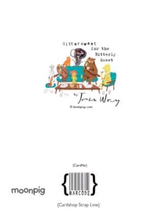 Greeting Cards - Animal christmas card - grizzly bear - christmas jumper - pudding - Image 4