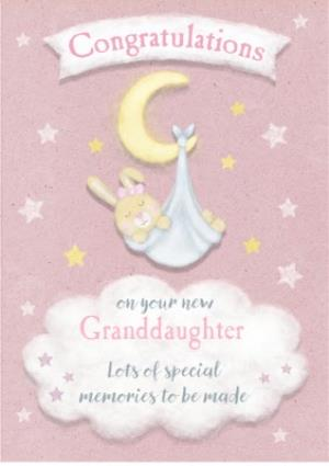 Greeting Cards - Cute Granddaughter Card - Congratulations - Image 1