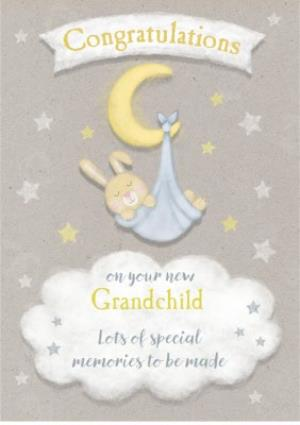 Greeting Cards - Cute Grandchild Card - Congratulations - Image 1