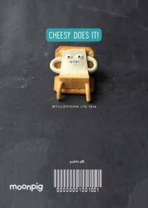 Greeting Cards - Cheese Pun Birthday Card - Image 4