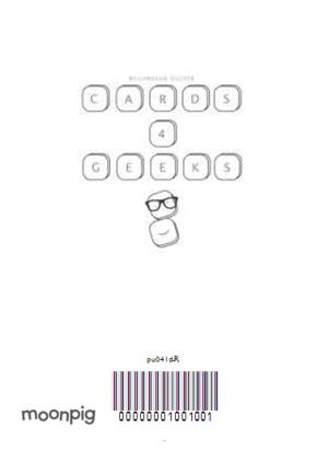 Greeting Cards - Smiley Face Keys Personalised Greetings Card - Image 4