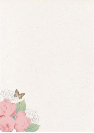 Greeting Cards - Bright Pink Roses Happy Birthday Mum Card - Image 2