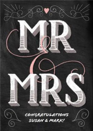 greeting cards congrats mr mrs on your wedding card image