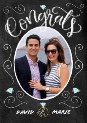 Greeting Cards - Congratulations Engagement Card - Image 1