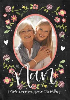 Greeting Cards - Birthday Card - Nan - Photo Upload Card - Image 1