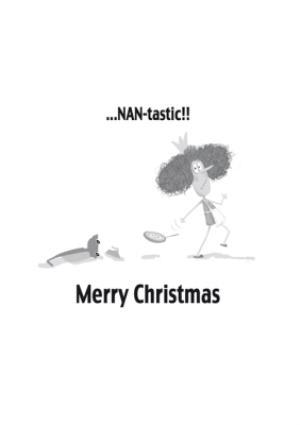 Greeting Cards - Fantastic Nan Christmas Card - Image 3