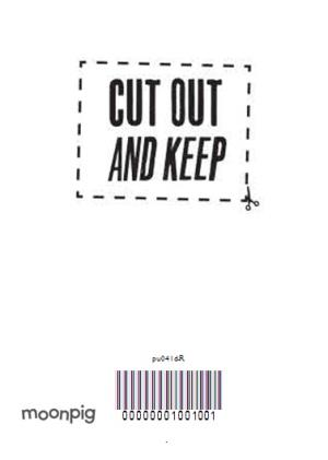 Greeting Cards - Collecting Coupons For You Personalised Happy Birthday Card - Image 4