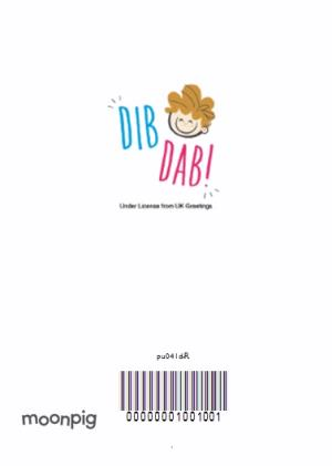 Greeting Cards - Dib Dab Gorgeous Boyfriend Personalised Card - Image 4