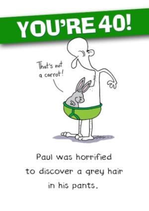 funny 40th birthday Funny 40th Birthday Card | Moonpig funny 40th birthday