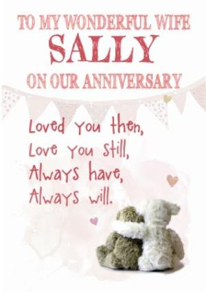 Greeting Cards - Anniversary Card - Sentimental - Love You - Wife - Image 1