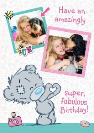 Greeting Cards - Dinky Fabulous Birthday Photo Upload Card - Image 1