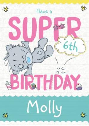 Greeting Cards - Dinky 6Th Birthday Personalised Card - Image 1