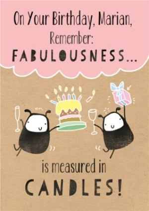 Greeting Cards - Fabulous Birthday Card - Image 1