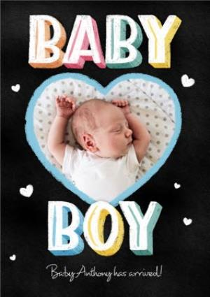 Greeting Cards - Baby Boy Has A Arrived Birthday Card - Image 1