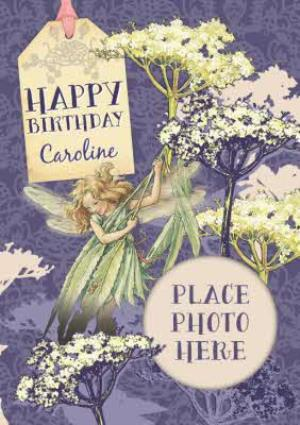 Greeting Cards - Fairies In The Garden Personalised And Photo Birthday Card - Image 1
