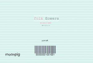 Greeting Cards - Aqua Striped Egg And Flower Happy Easter Photo Card - Image 4