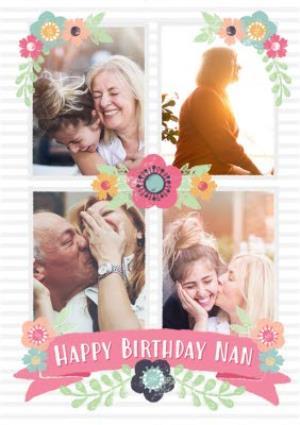 Greeting Cards - Birthday Card - Nan - Photo Upload - Image 1