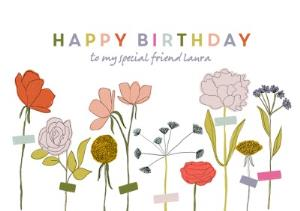 Greeting Cards - Birthday Card - Happy Birthday - Image 1