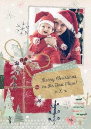 Greeting Cards - Wintertime Magic Merry Christmas Photo Card - Image 1