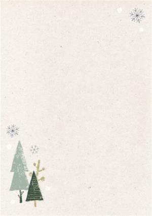 Greeting Cards - Wintertime Magic Merry Christmas Photo Card - Image 2