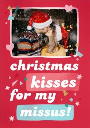 Greeting Cards - Christmas Card - Photo Upload - Missus - Wife - Girlfriend - Image 1