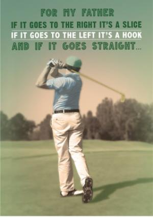 Greeting Cards - Father's day golf card - Image 1