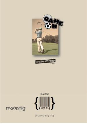 Greeting Cards - Father's day golf card - Image 4