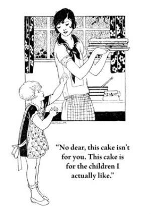 Greeting Cards - Birthday Card - Retro Illustration - Humour - Mum - Image 1