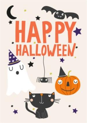 Greeting Cards - Boo! Happy Halloween Card - Image 1