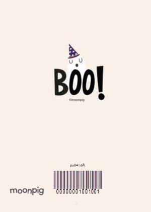 Greeting Cards - Boo! Happy Halloween Card - Image 4