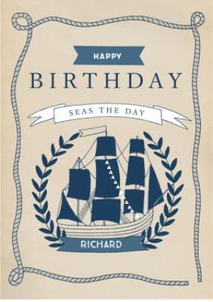Mens Birthday Card