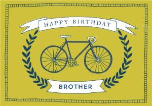 Greeting Cards - Birthday card - Bicycle - Brother - Image 1