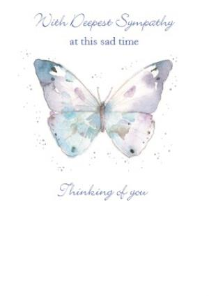Greeting Cards - Deepest Sympathy Card - Image 1