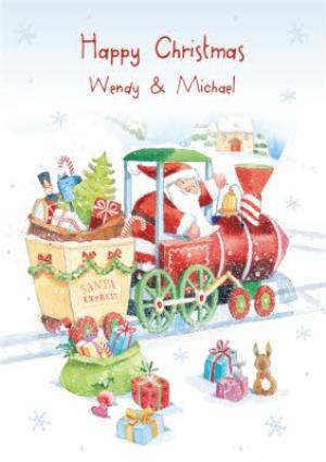 Greeting Cards - Christmas Card - Santa Express - Image 1