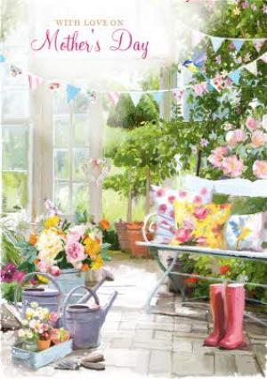 Greeting Cards - Big Garden Party Mothers Day Card - Image 1