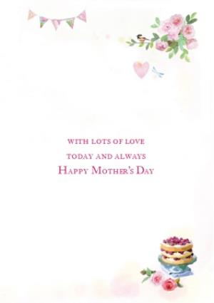 Greeting Cards - Big Garden Party Mothers Day Card - Image 3